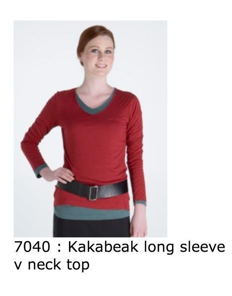 7040 Kakabeak long sleeve
